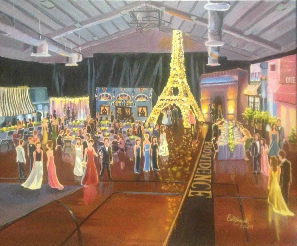 Paris-Themed Prom